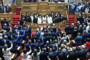 Η ευχή του Αρχιεπισκόπου στη νέα Βουλή (ΒΙΝΤΕΟ & ΦΩΤΟ)