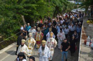 Αρχιερατικό Συλλείτουργο για την Αγία Μαρίνα στη Βόνη Πεδιάδος Ηρακλείου (ΦΩΤΟ)