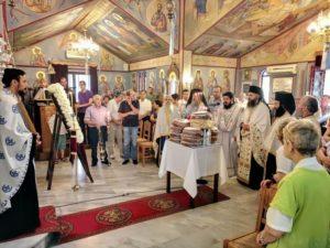 Εορτασμός του Οσίου Νικοδήμου του Αγιορείτου στην Πάτρα (ΦΩΤΟ)