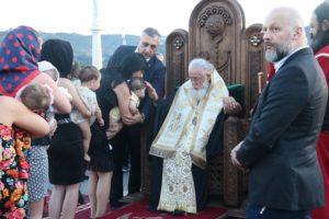 Πατριάρχης Ηλίας Β': Νονός 39,242 παιδιών στην Γεωργία