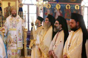 ΠΥΛΑΙΑ ΘΕΣΣΑΛΟΝΙΚΗΣ : Λαμπρός εορτασμός για τον Προφήτη Ηλία προεξάρχοντος του Τρίκκης