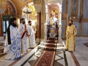 Στον Αγιο Ανδρέα Πατρών ο Κερνίτσης Χρύσανθος (ΦΩΤΟ)