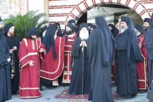 Με βυζαντινή μεγαλοπρέπεια  ο εορτασμός των Βατοπαιδινών Αγίων