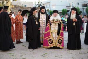 Εορτασμός του Πολιούχου της Νάξου Αγίου Νικοδήμου (ΦΩΤΟ)