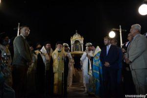ΤΗΝΟΣ : Πάνω από 10.000 λαού στη λιτανεία για τον εορτασμό της Αγίας Πελαγίας