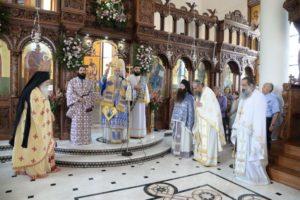 Η εορτή της Αγίας Μαρίνας στη Μητρόπολη Πατρών (ΦΩΤΟ)
