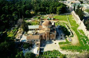 Κλειστή σήμερα η Μονή Δαφνίου λόγω πρoβλημάτων από τον σεισμό