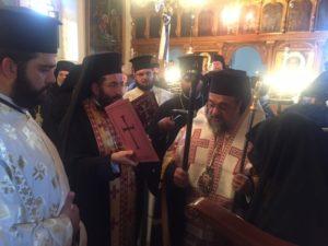 Ενθρόνιση Καθηγουμένης Ι. Μονής Αγίων Κωνσταντίνου και Ελένης Καλαμάτας