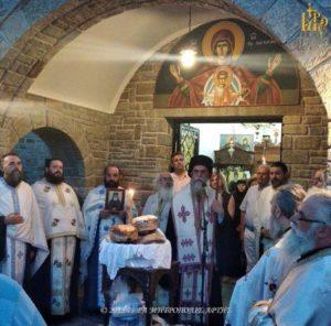 Ι.Μ. Αρτης: Εορτασμός του Αγίου Παϊσίου στην Ι. Μονή Θεοτοκιού (ΦΩΤΟ)