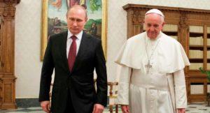 Ο Πούτιν στον Πάπα Φραγκίσκο – Η συζήτηση για τις σχέσεις των Εκκλησιών