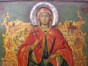 Αγία Μαρίνα: Η προσευχή πριν την αποκεφαλίσουν
