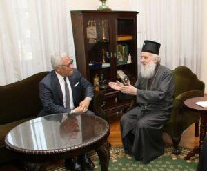 Συνάντηση του Σερβίας Ειρηναίου με τον Πρέσβη της Ινδονησίας (ΦΩΤΟ)
