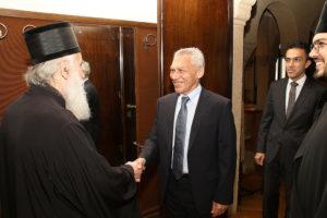 Στον Πατριάρχη Σερβίας ο Ρώσος Πρέσβης