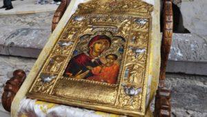 Στη Θεσσαλονίκη η Εικόνα της Παναγίας Σουμελά