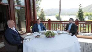 Τουρκία: «Μυστήριο» καλύπτει την ξαφνική συνάντηση Έντι Ράμα με Ερντογάν