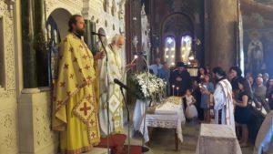 40ήμερο Μνημόσυνο Ιερομήτορος στην Ευαγγελίστρια Αμαρύνθου