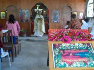 Φιλιππίνες: Θεία Λειτουργία στο Λέϊκ Σεμπού