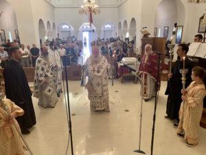 Ιεράπετρα: Θεία Λειτουργία στον Ιερό Καθεδρικό Ναό Αγίας Φωτεινής