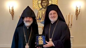 Νέα Υόρκη: Συνάντηση Αμερικής Ελπιδοφόρου με τον Αρχιεπίσκοπο Anoushavan
