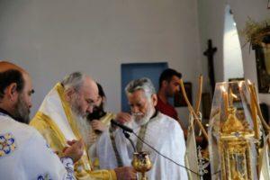 Ο Ναυπάκτου Ιερόθεος στον Άγιο Γεώργιο Καστρακίου