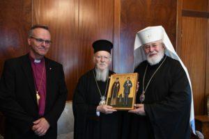 Ο Αρχιεπίσκοπος Φιλλανδίας στον Οικουμενικό Πατριάρχη (ΦΩΤΟ)
