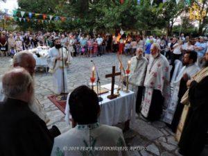 Ι.Μ. Αρτης: Η Κοίμηση της Θεοτόκου στην Ενορία Σελλάδων (ΦΩΤΟ)