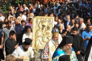 Η Κοίμηση της Θεοτόκου στη Μονή της Παναγίας της Εικοσιφοινίσσης (ΦΩΤΟ)