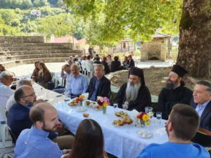 Ο Σταγών Θεόκλητος σε ορεινά χωριά της Μητρόπολης (ΦΩΤΟ)