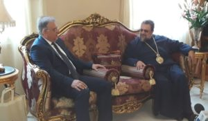 Οι ευχές του Μεσσηνίας Χρυσοστόμου στον υπουργό Εσωτερικών (ΒΙΝΤΕΟ)