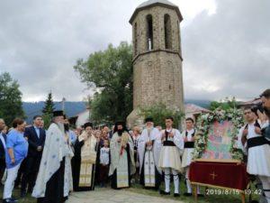 Η εορτή της Παναγίας στη Σαμαρίνα (ΦΩΤΟ)