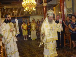 Η εορτή του Αγίου Αγαπίου στη Μητρόπολη Ιερισσού (ΦΩΤΟ)