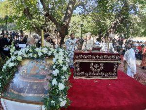 Δημητριάδος: «Ο λαός μας δεν θα χαθεί ποτέ, γιατί έχει Στρατηγό του την Παναγιά»