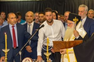 Την ορκωμοσία της νέας δημοτική αρχής Αλμυρού τέλεσε ο Δημητριάδος Ιγνάτιος