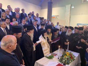 Ο Αρχιεπίσκοπος Κρήτης και Ιεράρχες στην ορκωμοσία του Περιφερειάρχη (ΦΩΤΟ)