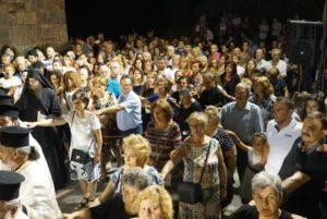 Πανηγυρικός Εσπερινός στο Ναό Πόρτας Παναγιάς στην Πύλη Τρικάλων (ΦΩΤΟ)