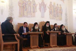 Αγιο Ορος: Ομιλίες στην Ι.Μ.Μ. Βατοπαιδίου κατά την εορτή της Κοιμήσεως της Θεοτόκου (ΒΙΝΤΕΟ)