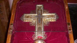 ΚΥΠΡΟΣ: Εκλεψαν Σταυρό με Τίμιο Ξύλο