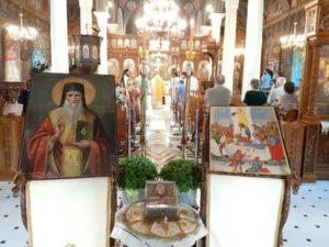 Η εορτή του Αγίου Τιμοθέου Επισκόπου Ευρίπου στη Μητρόπολη Χαλκίδος (ΦΩΤΟ)
