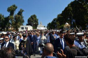 Παναγία Τήνου: Χιλιάδες πιστοί στους λαμπρούς εορτασμούς (ΦΩΤΟ)