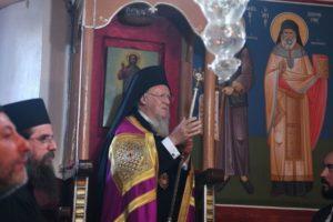 Ο Οικουμενικός Πατριάρχης για την Παναγία, την Ιμβρο και τις πυρκαγιές (ΦΩΤΟ)
