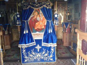 Υποδοχή της Παναγίας Παραμυθίας στην Ι.Μ. Προφήτη Ηλία Ερυθρών