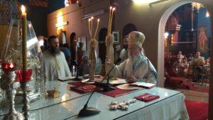 Ο Αιτωλίας Κοσμάς για την καταστροφή του Ιερού Ναού Αγίου Νικολάου