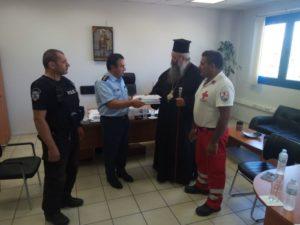 Ο Κίτρους Γεώργιος στην απονομή πιστοποιητικών σε Αστυνομικούς της Πιερίας