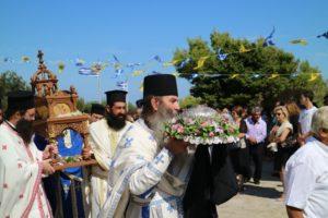 Στον Άγιο Αρσένιο Πάρου ο Μάνης Χρυσόστομος