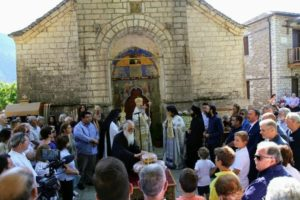 Η εορτή της Κοίμησης της Θεοτόκου στη Μονή Αμπελακιωτίσσης (ΦΩΤΟ)