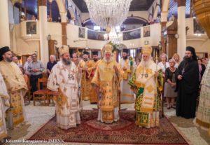 Νάουσα: Αρχιερατικό Συλλείτουργο για τον Πολιούχο Όσιο Θεοφάνη (ΦΩΤΟ)