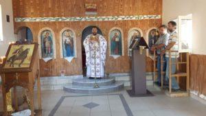 Θεία Λειτουργία στον Άγιο Προκόπιο Μίστρου Διρφύων (ΦΩΤΟ)