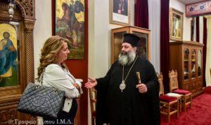 Στον Λαγκαδά Ιωάννη η επικεφαλής του Γραφείου του Πρωθυπουργού στη Θεσσαλονίκη