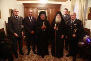 Πανηγυρική Αγρυπνία  για την Αγία Ζώνη παρουσία του υφυπουργού Εσωτερικών στο Βατοπαίδι