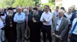 Την Ιερά Μονή Βελλά επισκέφθηκε ο Πρωθυπουργός